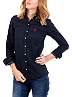 POLO CLUB Camisa Mujer Miss Rigby Oxford (Azul Marino)
