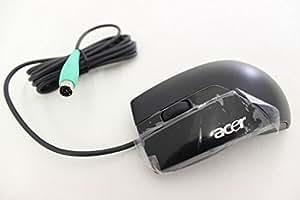 Acer PS2 Optical mouse - Ratón (PS/2, Óptico, Oficina, Negro, Ambidextro)
