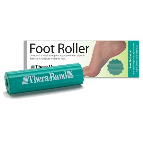 New Thera-Band Foot Roller - Foot Massager - helps relieve plantar faciitis pain #26150