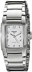 Tissot Women's TIST0733101101701 T10 Analog Display Swiss Quartz Silver Watch
