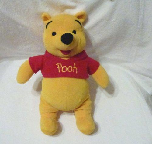 Disney Mattel Winnie-the-Pooh Velvety Soft 12 Plush - 1