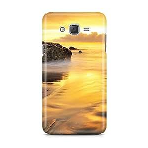 Motivatebox - Samsung Galaxy J7 Back Cover - scenery Polycarbonate 3D Hard case protective back cover. Premium Quality designer Printed 3D Matte finish hard case back cover.