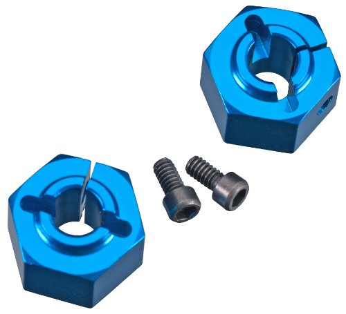 Team Associated 9892 12mm Aluminum Clamping Wheel Hex, Rear - 1