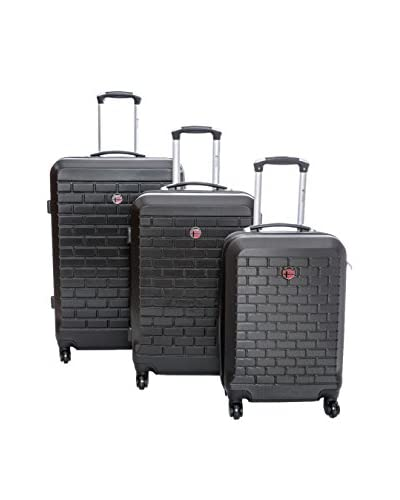 Geographical Norway Set 3 Trolley Rigido Strass