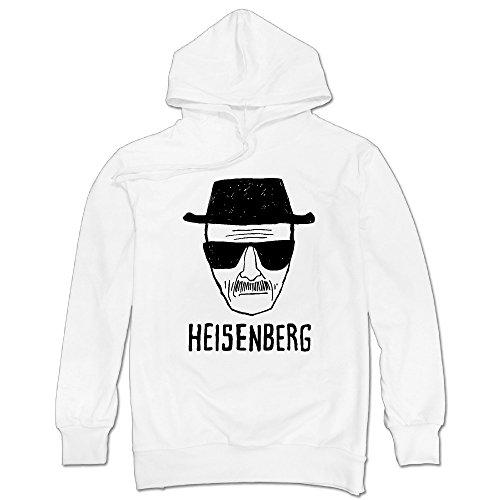 Men's Heisenberg Drawing - Breaking Bad Pullover Hoodie Sweatshirt (Bad Drawings compare prices)