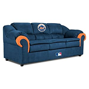 MLB Texas Rangers First Team Microfiber Sofa by Imperial