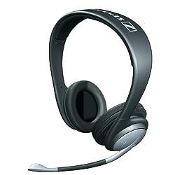 Sennheiser Pc 151 Analogue On-Ear Headphone with Mic (Black)