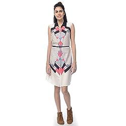 Desi Belle Casual Sleevless Printed Women's Dress/Shirt