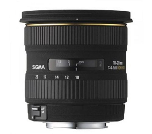 Sigma 10-20mm f/4-5.6 EX DC HSM - Canon Fit Lens