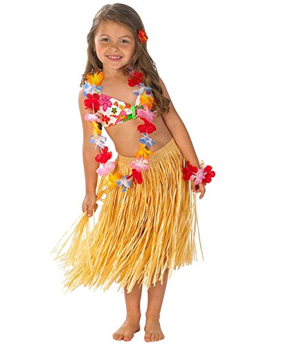 Hula Bathing Suit & Skirt Set (XL 14) - 1