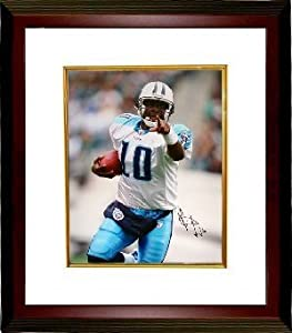 Vince Young Autographed Hand Signed Tennessee Titans 16x20 Photo Close Up Custom... by Hall of Fame Memorabilia