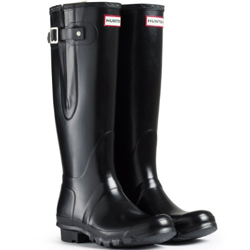 Hunter Boots Original Adjustable Back - Neve Stivali Pioggia Acqua Stivali Delle Donne Unisex