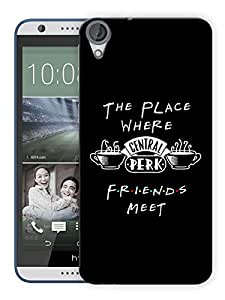 """Humor Gang Friends Coffee Central Perk Printed Designer Mobile Back Cover For """"HTC DESIRE 820"""" (3D, Matte, Premium Quality Snap On Case)"""