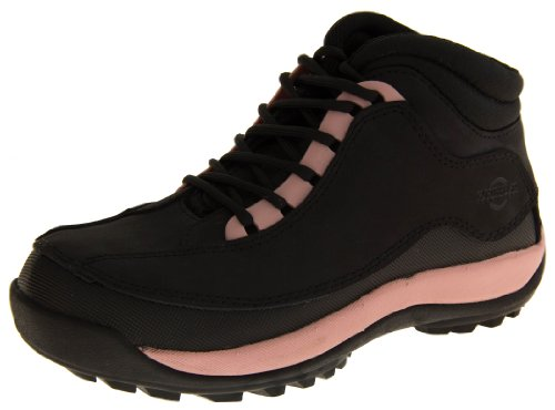 Footwear Studio, Scarpe antinfortunistiche donna, (Black & Pink), 41.5