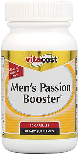 Booster Passion Men Vitacost avec LJ100 Tongkat