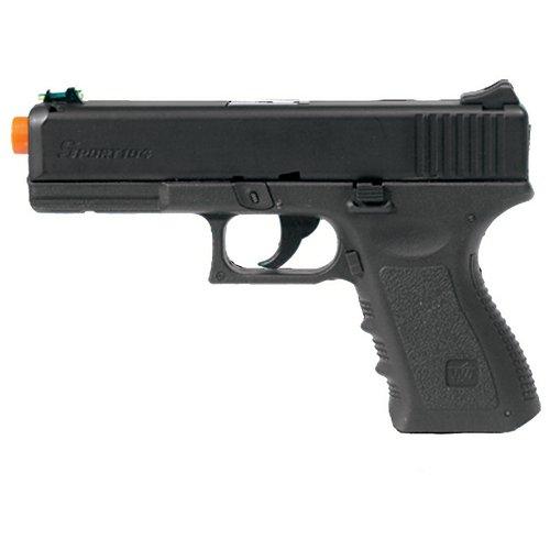 Heavy Weight Green Gas Powered Airsoft Gun Pistol : Sports & Outdoors