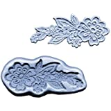 Lace Flowers Medallion Mold by CK