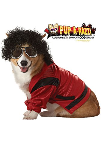 [Mememall Fashion Pop King Dog Pet Costume] (Legend Of Sleepy Hollow Costumes)