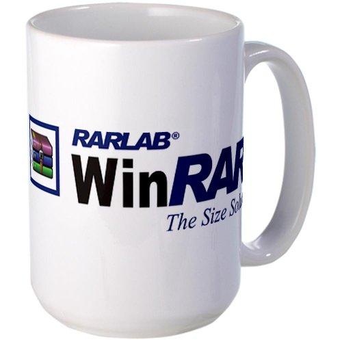CafePress Large WinRAR Mug Large Mug - Standard (Winrar compare prices)