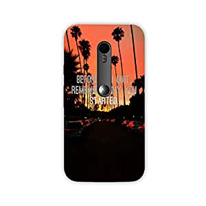 The Palaash Mobile Back Cover for Motorola Moto G3