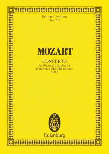 Piano Concerto No. 20, K. 466 in D Minor (Edition Eulenburg)