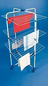Wäschetrockner-Turm 3 Etagen Wäscheturm Wäscheständer Trocknerturm