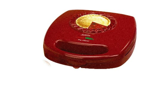 Sunbeam Fpsbpmm980 4-Piece Pie Maker, Red front-554018