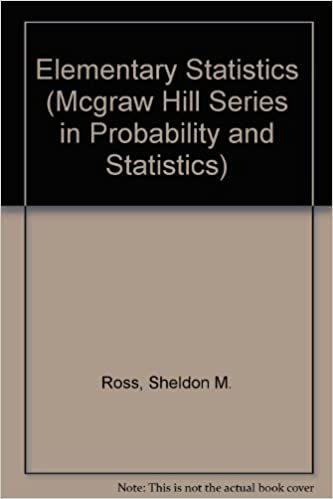 Elementary Statistics (Mcgraw Hill Series in Probability and Statistics)