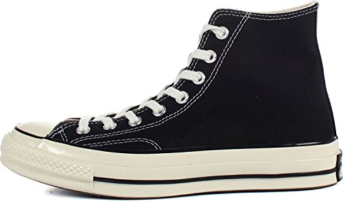 Converse Women's All Star '70s High Top Sneakers, Black, 9.5 B(M) US