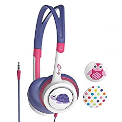 ZAGG ifrogz Audio - Little Rockers Turtle IFLTRC-PU1 Headphones (Pink-Purple)