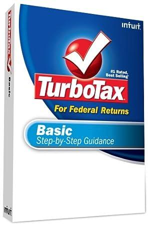 TurboTax Basic Federal + eFile 2008 [OLD VERSION]