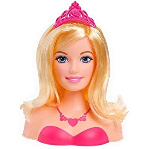 Barbie: The Princess And The Popstar Styling Head: Amazon