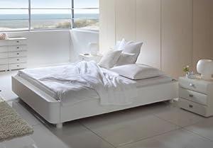bett polsterbetten polsterbett verena ohne kopfteil beige 140x200. Black Bedroom Furniture Sets. Home Design Ideas