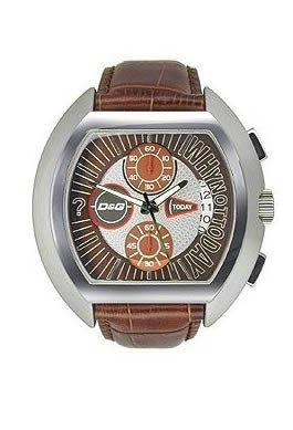 Dolce & Gabbana Watch HIGH SECURITY DW0213/DW0214, Color: Brown, Size: One Size