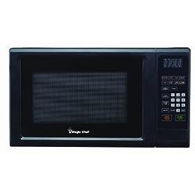 Magic Chef 1.1 Cu Ft Countertop Microwave Black MCM1110B