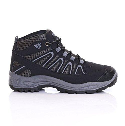 Slimbridge Snowdon Scarpe da trekking Uomo, Nero 44