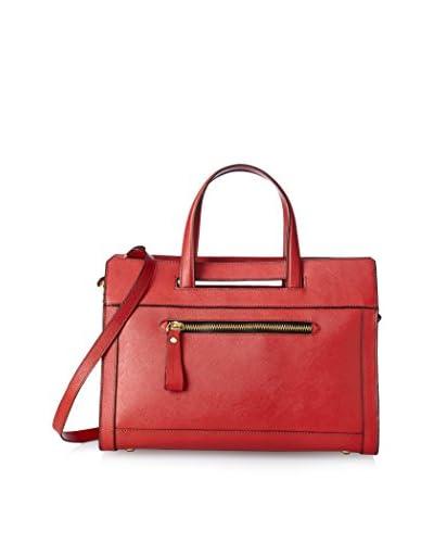 orYANY Women's Sabrina Top Handle Bag, Brick
