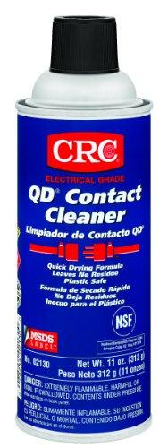 Crc Qd Plastic Safe Liquid Contact Cleaner, 11 Oz Aerosol Can, Clear