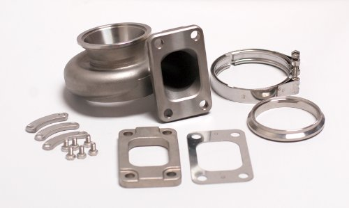 """Tomioka Racing Stainless Steel Turbine Housing 0.82 AR T3 Inlet & 3"""" V-Band Outlet for GT30 or GTX 30"""