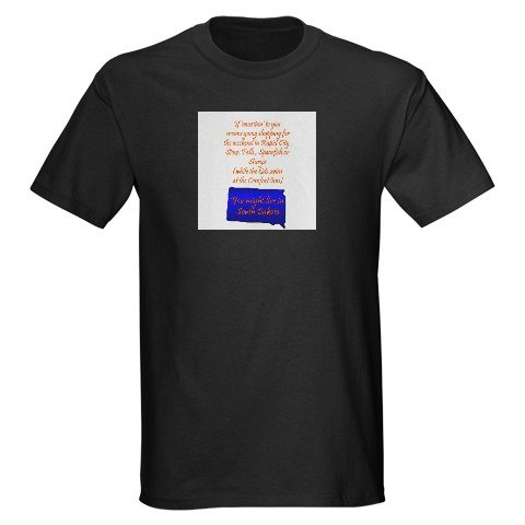 SD Vacation Funny Dark T-Shirt by CafePress