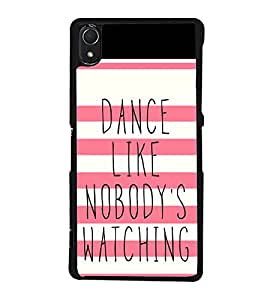 Quote 2D Hard Polycarbonate Designer Back Case Cover for Sony Xperia Z3 :: Sony Xperia Z3 Dual :: Sony Xperia Z3 D6633