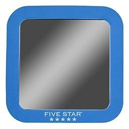 Five Star Locker Mirror, 5.5 x 5.5 Inches, Cobalt Blue (72558)