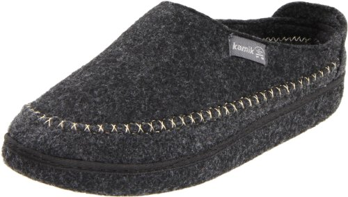 Cheap Kamik Men's Fireside Natural Wool Slipper (B004O6N1W0)
