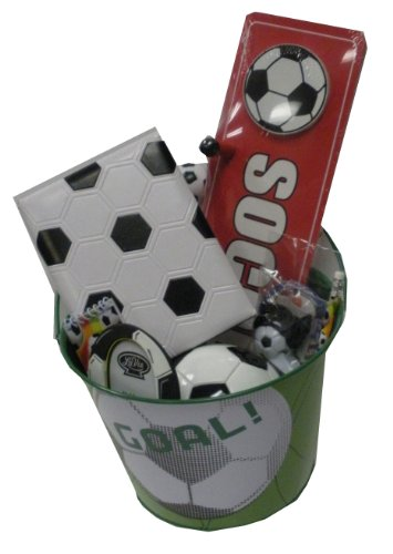 Soccer Lover's Gift Basket - for Get Well, Birthday, Easter, Christmas, or Other Special Ocassion