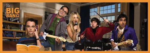 12x36 Poster Print Slim The Big Bang Theory Cast (Big Bang Theory Penny Poster compare prices)