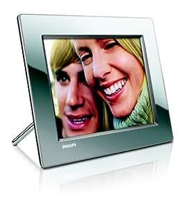 """Philips 8FF3WMI Digitaler Bilderrahmen (8"""" Display,  512 MB interner Speicher, WLAN) silber"""