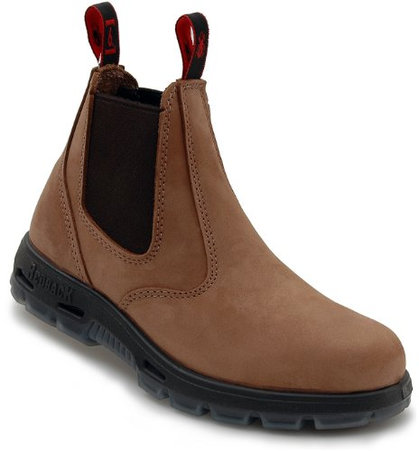 Redback UBCH Chelsea Boots Nubuck Crazy Horse Brown from Australia (UK size 9.5)
