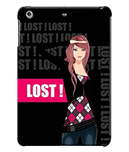 Fuson Lost Girl Back Case Cover for APPLE IPAD MINI 2 - D4033