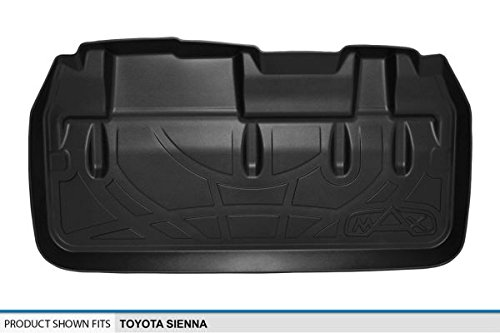 Maxliner MAXTRAY Custom Fit All Weather Cargo Liner for Select Toyota Sienna Models - (Black)