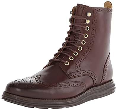 Amazon com cole haan men s lunargrand wing combat boot shoes